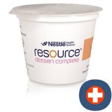 Resource dessert peach 4 cup 125 g