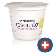 Resource vanilla dessert 4 cup 125 g