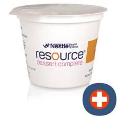 Resource dessert caramel 4 cup 125 g