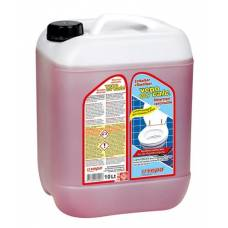 Vepocalc toilet descaler + rust remover highly-effective canister 10 lt