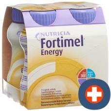 Fortimel energy banana 4 fl 200 ml