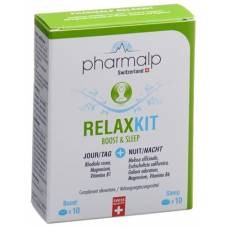 Pharmalp relaxkit boost & sleep tbl blist 20 pcs