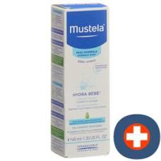 Mustela hydra bébé face cream normal skin tb 40 ml