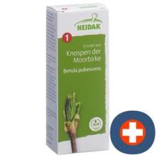 Heidak bud moorbirke betula pub glycerol maceration fl 500 ml