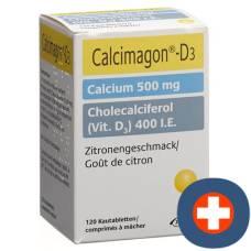Calcimagon d3 kautabl lemon ds 120 pcs