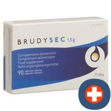 Brudysec kaps 1.5 g blist 90 pcs