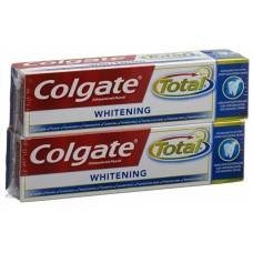 Colgate total advanced whitening toothpaste duo 2 x 75 ml