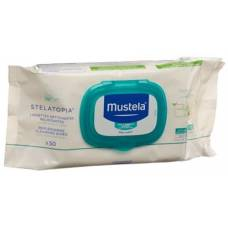 Mustela cleaning cloths for atopic skin 50 pcs