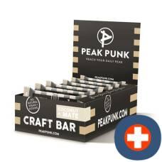 Peak punk bio craft bar display coconut & mate 15 x 38 g