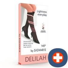 Delilah 140 mesh calves gr4 closed anthracite 1 pair