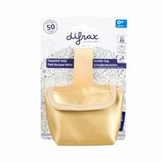 Difrax soother pocket gold