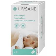 Livsane nursing pads 30 pcs