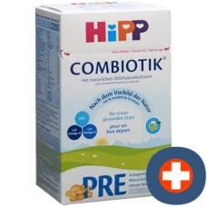 Hipp pre infant formula bio combiotik 800 g