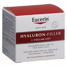 Eucerin hyaluron-filler + volume-lift day cream dry skin 50ml