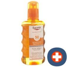 Eucerin sun sensitive protect spf50 sun spray transparent fl 200 ml