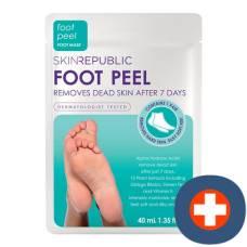 Skin republic foot peel 40 ml