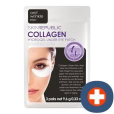 Skin republic collagen under eye patch 3 pairs