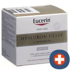 Eucerin hyaluron-filler + elasticity nachtpflege 50 ml