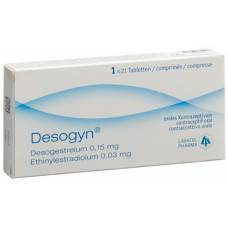 Desogyn tablets 150mcg / 30mcg 21 pcs