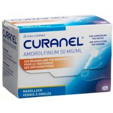 Curanel nail polish amorolfinum 50 mg / ml 2.5 ml fl
