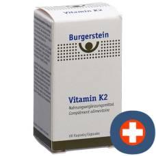 Burgerstein vitamin k2 kaps 180 mcg ds 60 pcs