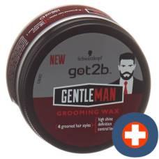 Got2b gentlemen grooming wax 100 ml