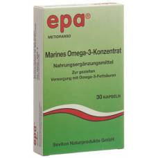 Epa marine omega-3 concentrate 30 pcs