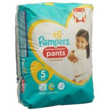 Pampers premium protection pants gr5 12-17kg junior carrying pack 17 pcs