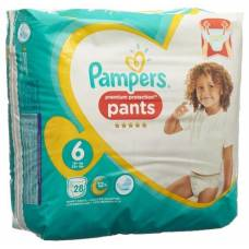 15 + pampers premium protection pants gr6 kg extra large sparpack 28 pcs