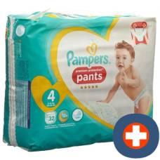 Pampers premium protection pants gr4 9-15kg maxi-pack 32 pcs