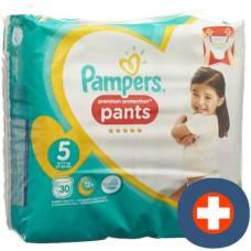 Pampers premium protection pants gr5 12-17kg junior saver pack 30 pcs