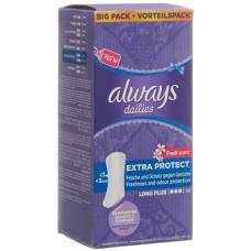 Always panty liner extra long protect plus fresh value pack 40 pcs