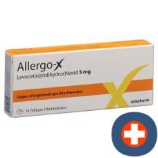 Allergo-x filmtabl 5 mg 10 pcs