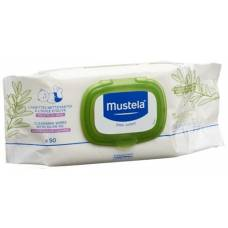 Mustela cleaning cloths olive oil 50 pcs