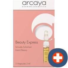 Arcaya ampoules beauté express 5 x 2 ml