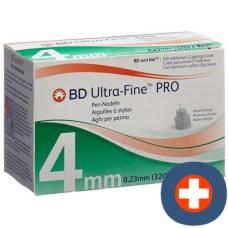 Bd ultra-fine pro pen needle 32g 105 pcs 0.23x4mm