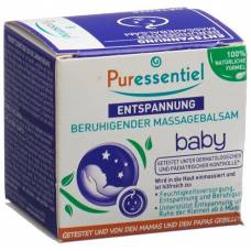 Puressentiel soothing massage balm baby with 3 essential oils ds 30 ml