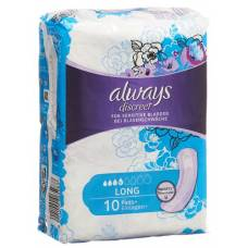 Always discreet incontinence long 10 pcs