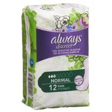 Always discreet incontinence normal 12 pcs
