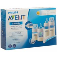 Avent philips anti-colic bottle newborn set with airfree valve