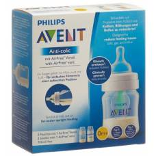 Avent philips anti-colic bottles with airfree valve 125ml 2 pcs