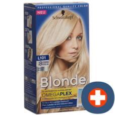 Schwarzkopf blonde l101 platinum brighteners silver blond