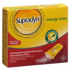 Supradyn energy-iron sticks gran 60 pcs