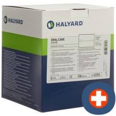 Halyard oral care swab 250 x