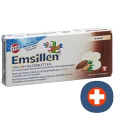 Emsillen children halstabletten with cocoa 20 pcs