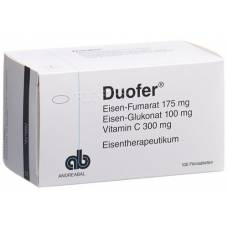 Duofer filmtabl adults 100 pcs