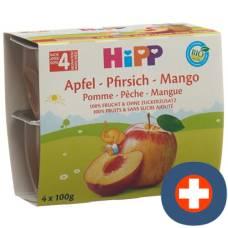 Hipp fruit break apple peach mango 4 x 100 g