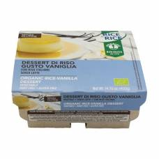 Probios rice dessert of vanilla bio 4 x 100 g