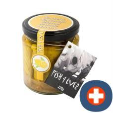 Fish4ever mackerel fillets in organic olive oil jar 220 g