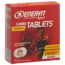 Enervit carbo tablets 24 x 4 g